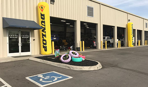 C & D Tire | Locations in Tennessee | Tires & Auto Repair